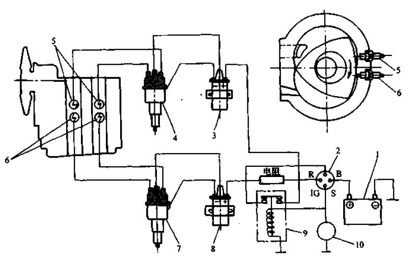 中国传动设备网 时间:2015-09-23 信息来源:汽车构造 和四冲程往复活塞发动机相比,转子发动机点火有很多不利的因素 1.转子发动机转速高,主轴每转动一转需要点火一次,所以点火的频率是比较高的,火花塞受热比较严重。 2.为了避免径向的密封片和火花塞的电极碰触,火花塞必须缩进气缸的型面内,通过连通孔和气缸工作腔相通,在这个情况下,火花塞得不到新鲜的混合气的冲刷和冷却,电极温度高,另外,连通孔内残存有比较多的废气,不利于点火。 3连通周围气流速度很高,点火之后火焰中心散热快,容易灭火。 4.