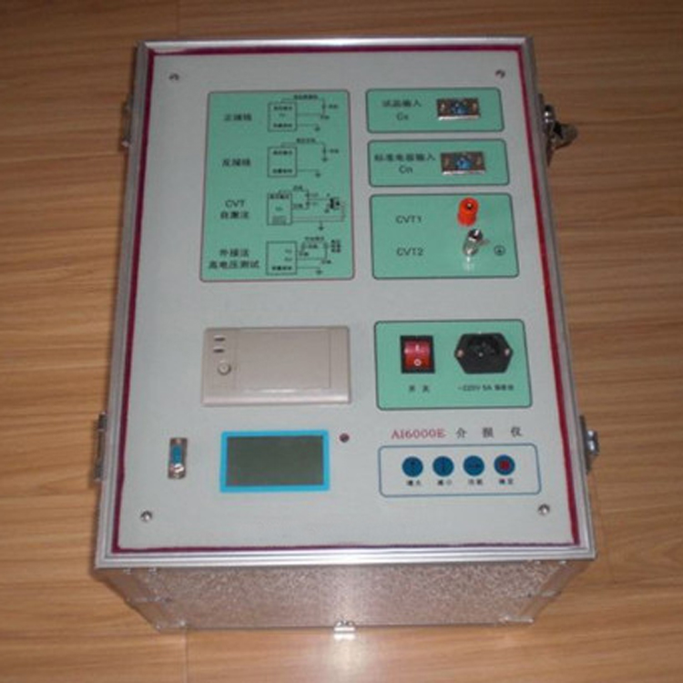 供应国内电力资质升级抗干扰变频高压介质损耗测试装置直销