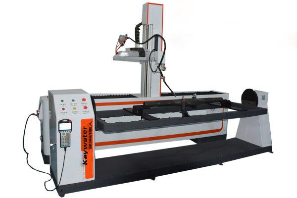 供应凯沃智造全自动机器人自动焊接加工自动流水线机器人焊接厂家