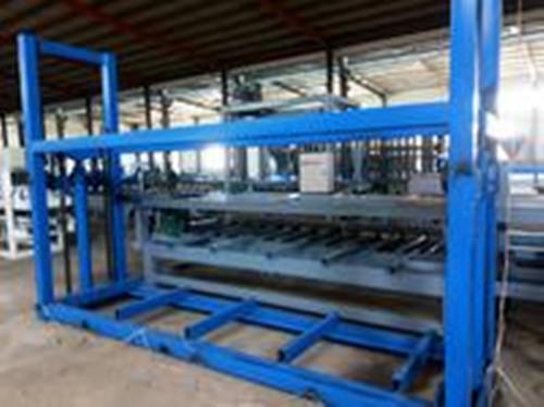 供应防火装饰玻镁板生产线设备价格A新型无尘四边锯厂家山东德州