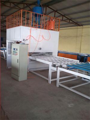 供应外墙保温装饰板喷涂室设备A水包水二合一复合板冷压机厂湖南怀化